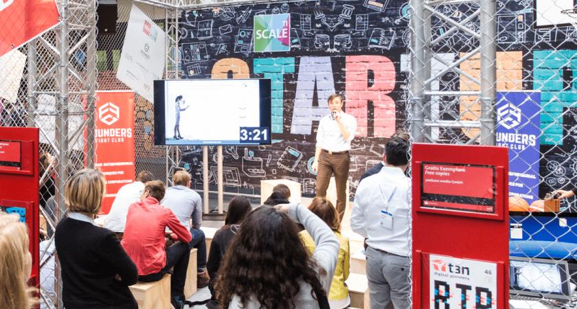 Svenska startupföretaget Storyspot ställde ut på Cebit