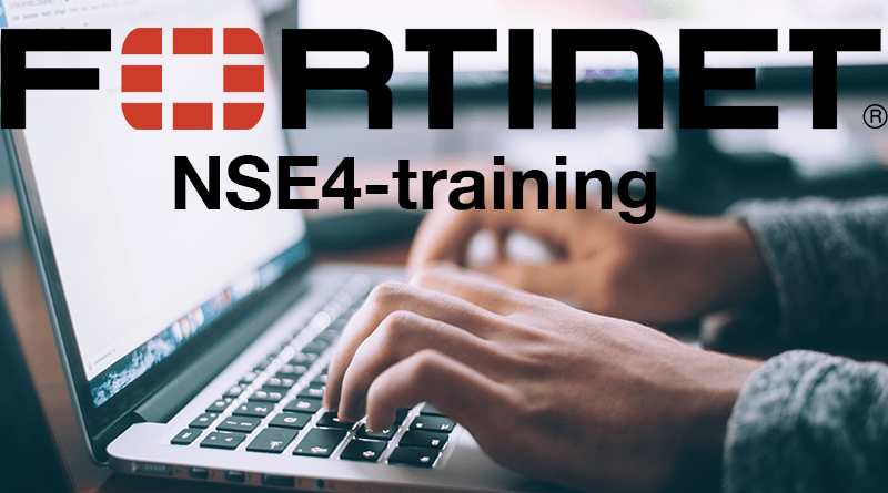 Fortinet – NSE4-training – 1-5 october