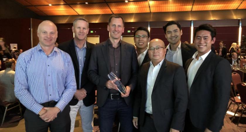 Tactel vinnare av bästa innovation på APEX 2018