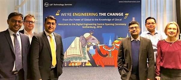 L&T Technology Services öppnar nytt ingenjörscenter i Göteborg
