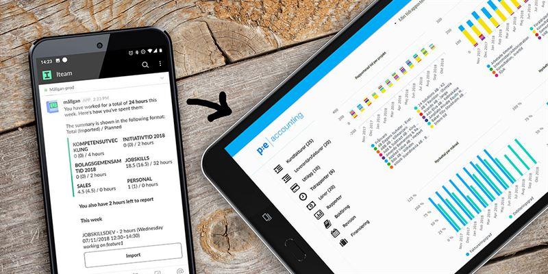 Iteams chatbot hjälper anställda tidrapportera och skapar fakturor direkt i ekonomisystemet