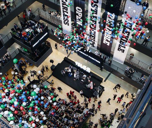 Tele2 och Com Hem firar med inflyttningsfest