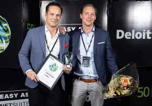 Svensk spelbolag utnämns till Sveriges snabbast växande techföretag 1