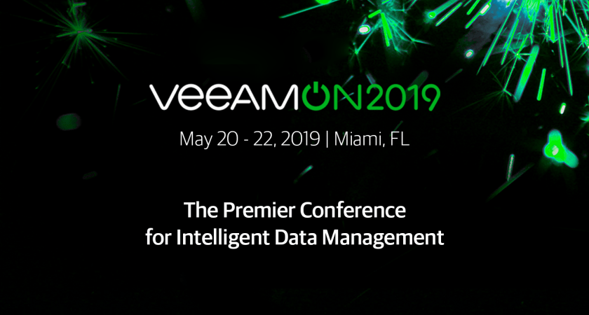VeeamON 2019: The place to be!