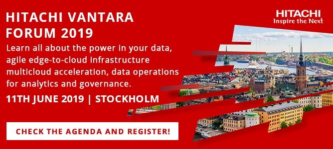 Hitachi Vantara Forum- your data your innovation