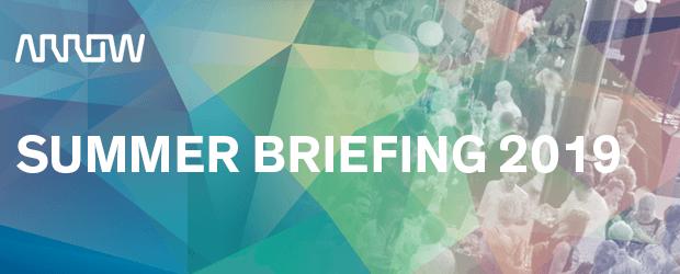Arrow ECS Summer Briefing, onsdagen den 19 Juni 2019 1