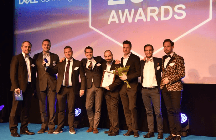 Årets distributör på DELL Technologies Partner Awards