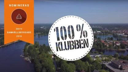 Atea är finalist till Årets samhällsbyggare med 100 %-klubben 1