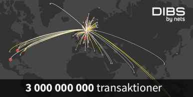 E-handeln växer så det knakar − tre miljarder transaktioner i Norden för DIBS 1