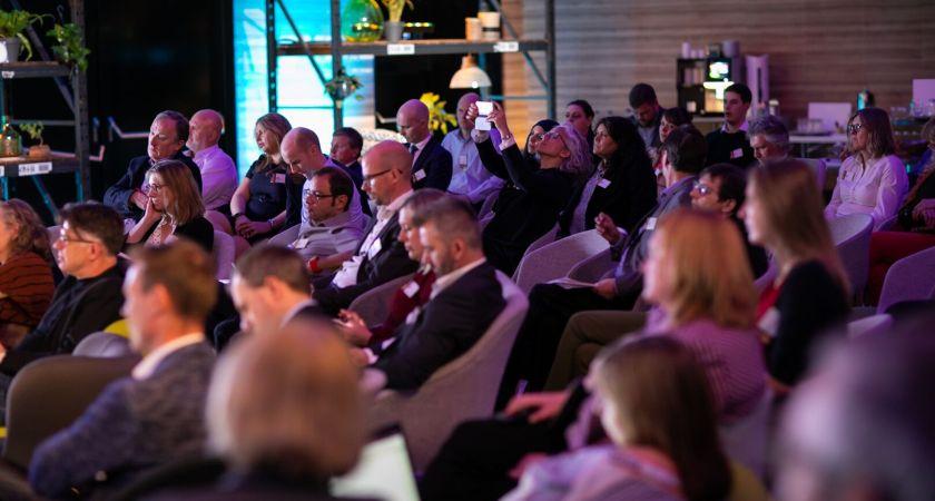 UNIT4s helt nye VD pratade framtidsplaner på egna konferensen