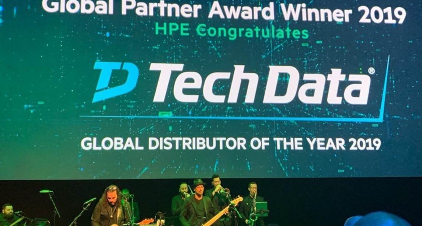 "Tech Data utsedd till ""2019 Global Distributor of the Year"" av Hewlett Packard Enterprise"
