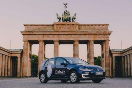 Volkswagen WeShare med 100 procent elbilar är nu lanserat i Berlin 1