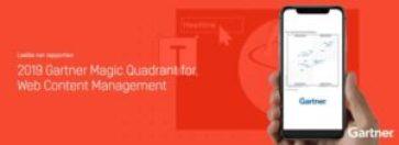 Episerver utnämnd i Gartners Magic Quadrant for Web Content Management 2019 1