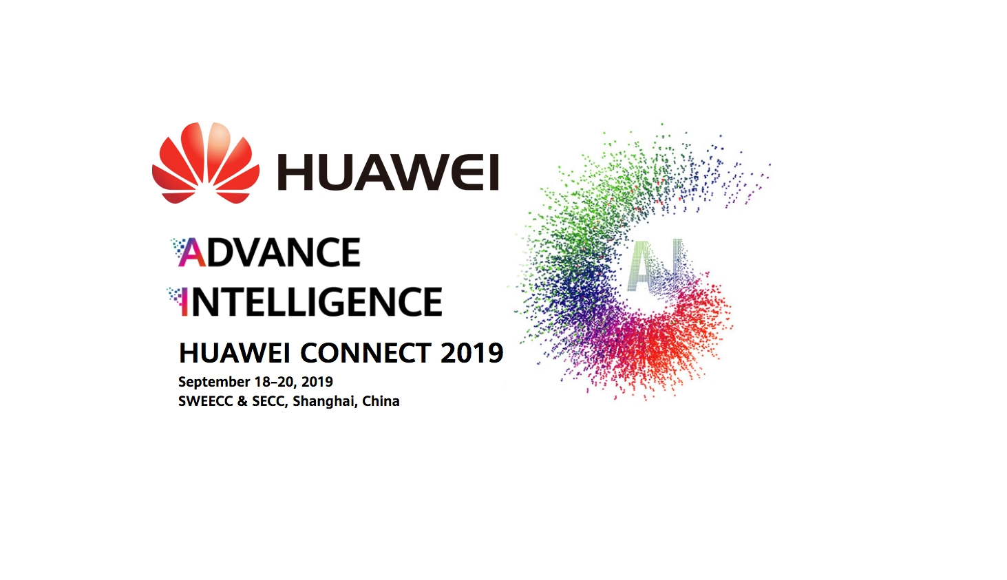 HUAWEI CONNECT 2019 streaming live from Shanghai Expo Center 1
