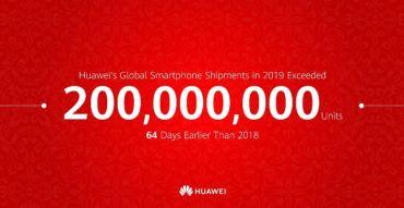 Huawei har sålt 200 miljoner mobiltelefoner på rekordtid 1