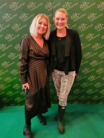Lisa Nilsson och Cecilia Löwenadler