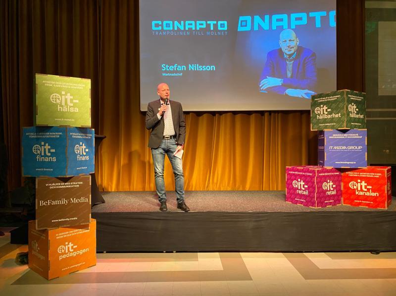 Stefan Nilsson Marknadschef, Conapto