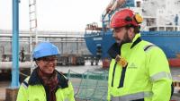 Unik digital lösning gör Göteborgs hamn smartare