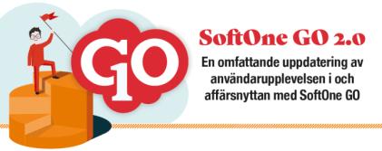 Lansering av SoftOne GO 2.0 ger ökad användarupplevelse och affärsnytta 1