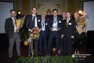 Peter Hellgren utsedd till östra Sveriges främste entreprenör 1