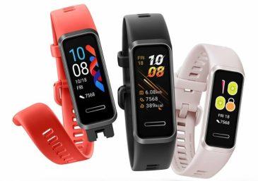 Huawei lanserar nytt träningsarmband – Huawei Band 4 1