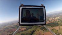 TOUGHBOOK-dator testades– överlevde rymdfärd och ett fall från 30 kilometers höjd