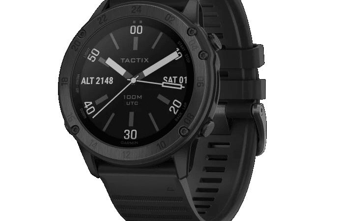 Garmin adderar tactix Delta till sin line-up av taktiska smartwatches