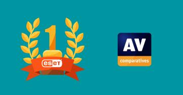 AV-Comparatives ger guldmedalj till ESET konsumentprodukter vid prisutdelning för datasäkerhet 1
