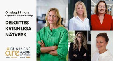 Förändring och berättande i fokus under Deloittes kvinnliga nätverk 25 mars 1