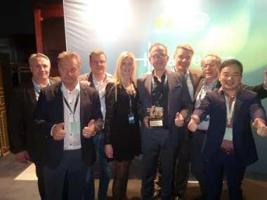 Gävleföretag vinnare av Gulddraken vid Huawei Nordic Partner Summit Horizon 1