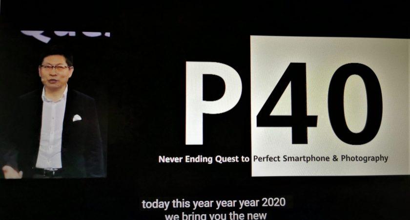 Nya Huawei P40-serien med kraftfullare kameror i kombination med Huawei AppGallery