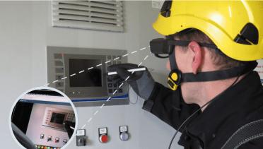 XMReality Remote Guidance används av Iristick smarta glasögon 1