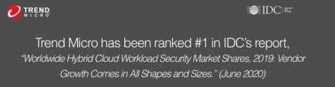 IDC rankar Trend Micro som världsledare inom Global Hybrid Cloud Security 1