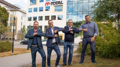 IT-Total går samman med konsultbolaget EnvokeIT – stärker sin position inom molntjänster och digital arbetsmiljö 1
