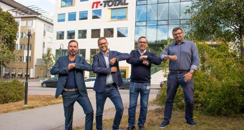 IT-Total går samman med konsultbolaget EnvokeIT – stärker sin position inom molntjänster och digital arbetsmiljö