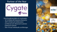 Cygate är Cisco Partner of the Year!