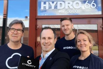 Hydro66 och Cyberty inleder partnerskap 1