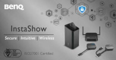 BenQ Instashow belönas med ISO27001-certifiering: Högsta säkerhet för ditt företag 1