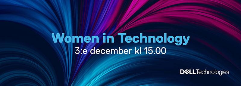 Välkommen till ett inspirationswebinar med Women in Technology