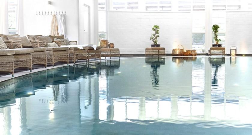 Varbergs Kusthotell har utnämnts till Sveriges bästa spa