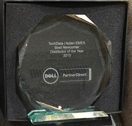 Tech Data Europa erhöll utmärkelse på Dell Solutions Conference 2015