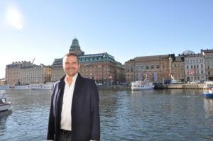 David Mühle, Sverige chef Ooyala