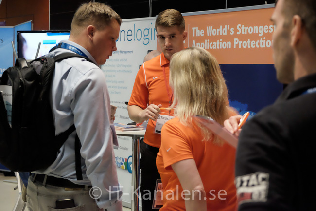 Alla bilder från Nordic IT Security 2015