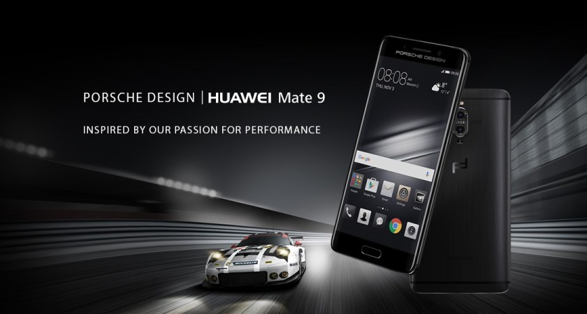Huawei i samarbete med Porsche Design – lanserar telefon i exklusiv upplaga