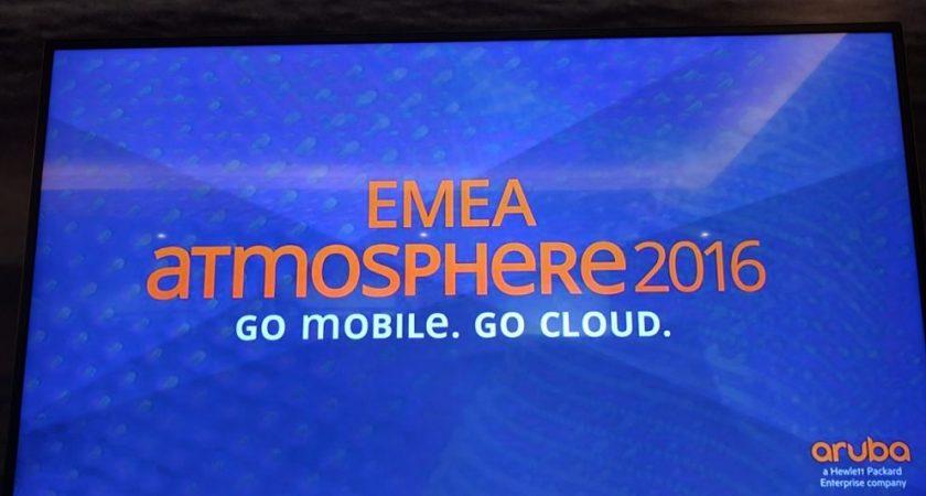 Aruba EMEA Atmosphere – platsen där vi växlar över till en trådlös värld
