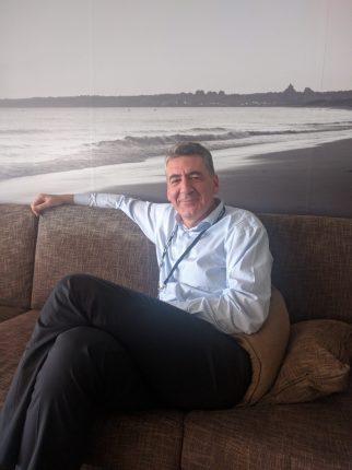 Alain Carpentier, VP för HPE Aruba EMEA