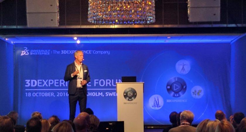 Dassault Systèmes pratar vidare om 3D och upplevelser