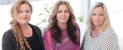 Lanteam, Linda Ankén, Carina Liljeström, Charlotta Gremner