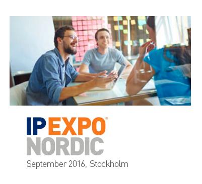 En vecka kvar till IP EXPO Nordic i Stockholm