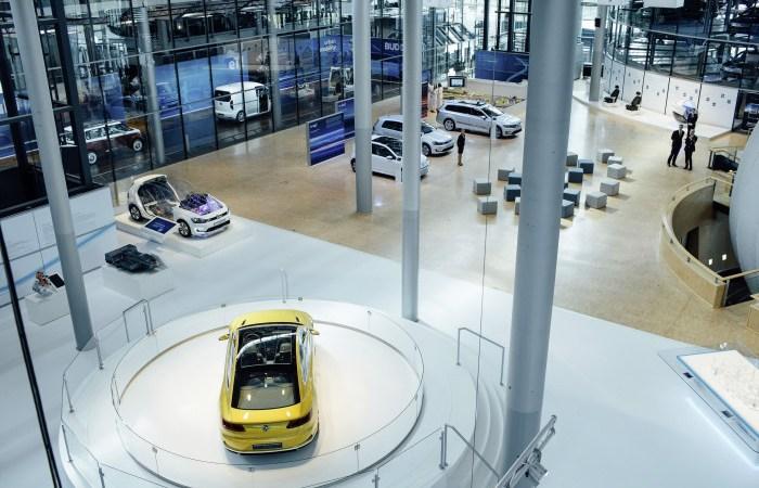Volkswagens transparenta fabrik i Dresden
